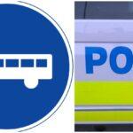 Polis fångade bilist i bussfil i Liljeholmen