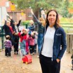 Springlopp på nya förskolan – alla får medalj