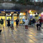 Bilder: Spännande morgontur för lokala promenadgänget