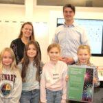 Miljöengagerade elever på Långsjöskolan prisas