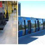 Bilder: Nu rullar de ombyggda t-banevagnarna  ut