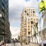 Byggstart av 204 nya lägenheter i The Brick
