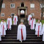 Film: Musikgymnasiet i Liljeholmen sjunger luciasånger