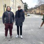 Nu kliver Lennart och Arvid in i sin första journalistpraktik