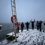 Årets första Kom igång: Snöig promenadsuccé med ståfika
