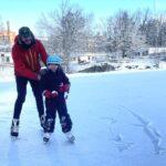 Isbanor och skidspår öppnar – skridskopremiär i Aspudden
