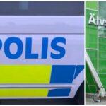 Bilägare fick foten överkörd på Älvsjö torg