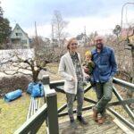 Så fixar de sin trädgårdsdröm i Mälarhöjden – tillsammans med andra