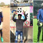 Nyanländ målvakt från Tanzania går via Hägersten till träning på Friends