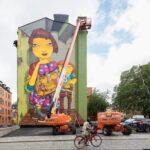 Miljonsatsning på muralmålningar – efter lokala initiativ