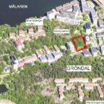 Bostadsrättsförening bygger 50 nya lägenheter vid park i Gröndal