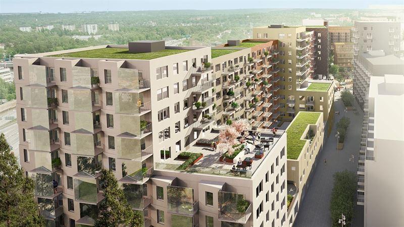 skiss lägenheter - the brick