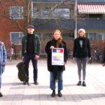 De protesterar mot marknadshyror