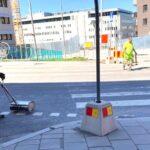 Grannar ifrågasätter trafiksäkerhet – övergångsställe målas