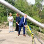 Från Vårbergstippen till Vårbergstoppen- nu invigs nya parken