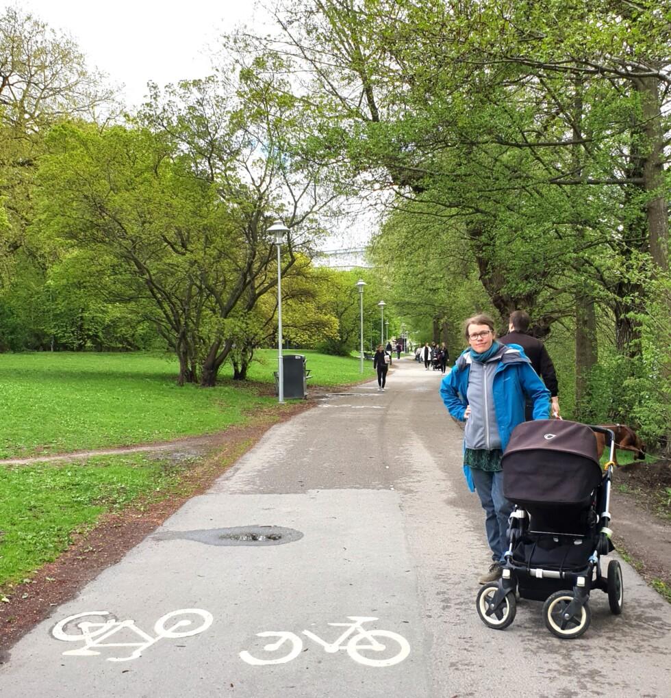 Cykelbana trekanten