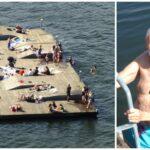 Kritik mot nya bryggan på Liljeholmskajen: Man måste vara ung och atletisk för att bada här