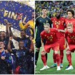 Frankrike och Belgien favoriter till guldet i fotbolls-EM