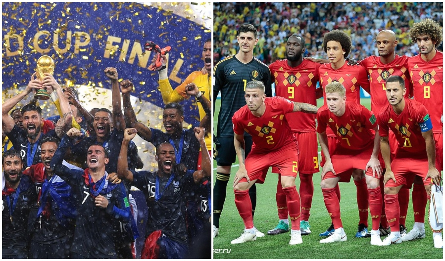 frankrike - belgien fotbollslandslag