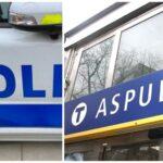 Misstänkt grovt rån i Aspuddens t-bana – tåg stoppade