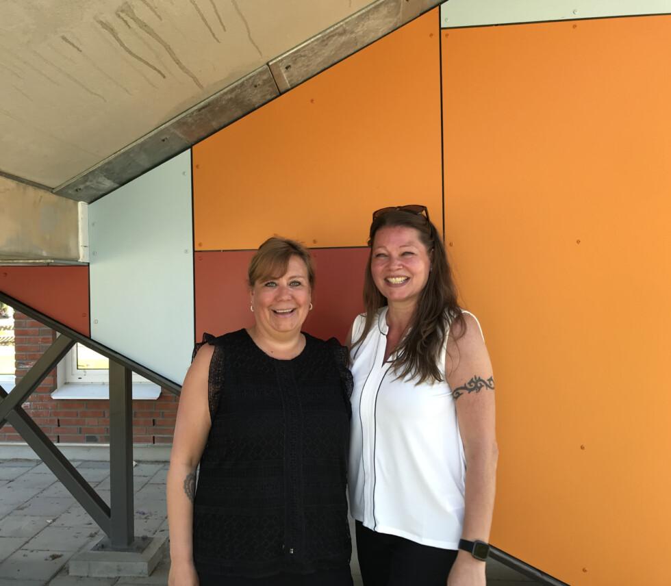 Förskolepedagogerna Monica och Stina