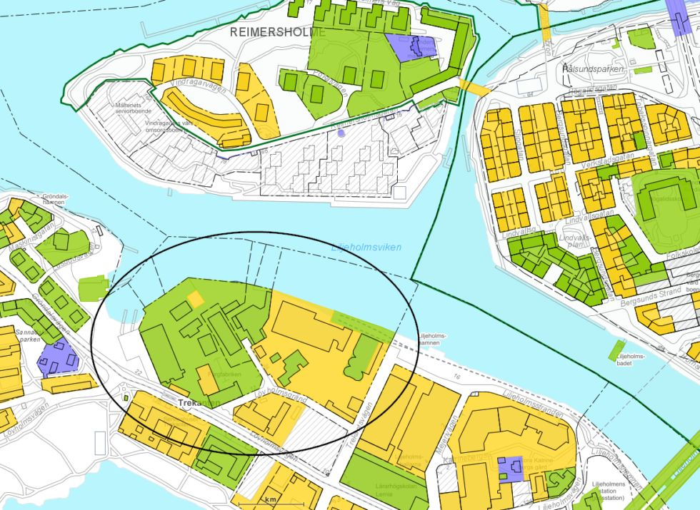 karta Lövholmen
