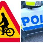 Trafikolycka: Cyklist förd till sjukhus med ambulans