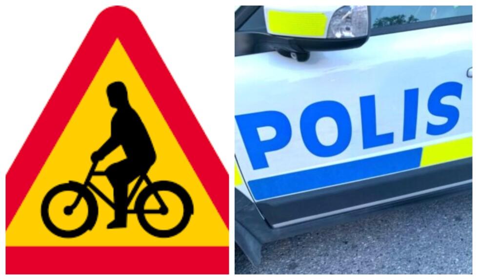 cykel polis