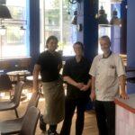 Succé för nyöppnad italiensk glassbar och bageri på Sjövikstorget