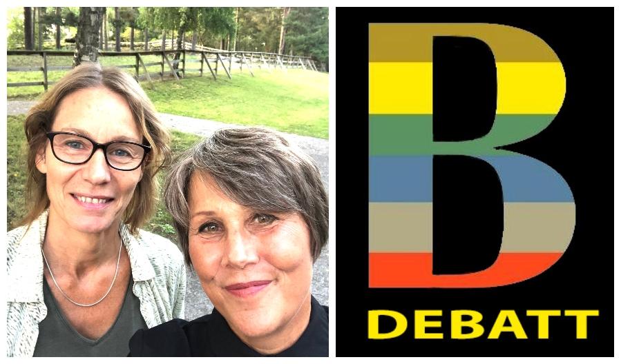 Debatt_ Cilla Lavér och Idde Schultz