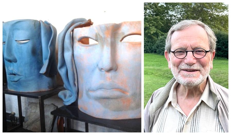 håkan och skulpturer av hertha hillfon