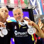 Medaljregn över Spårvägens spelare i Parkinson-VM i bordtennis