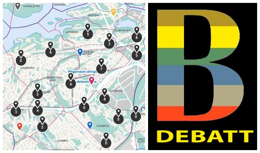 karta debatt