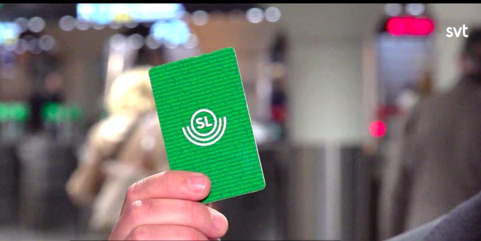 SL-kort Grönt