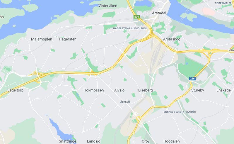 karta älvsjö